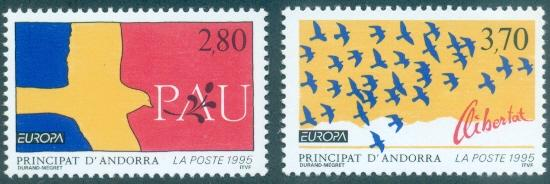 Andorra - French #448-449  MNH  Scott $4.90