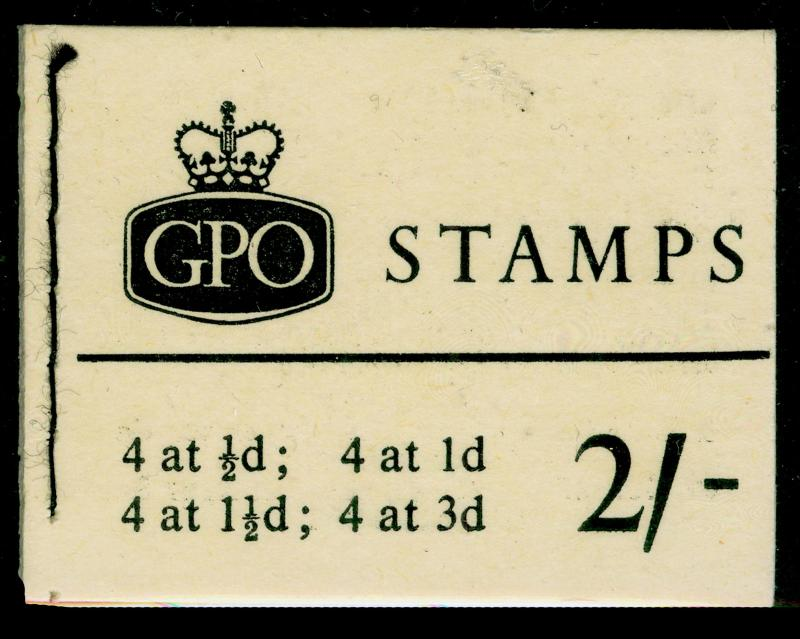 SGN4p, BOOKLET, NH MINT. Cat £80. APRIL 1961.