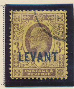 Great Britain, Offices In the Turkish Empire (Levant) Stamp Scott #20, Used -...