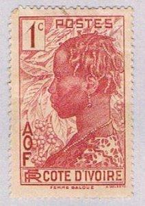 Ivory Coast Woman 1c - wysiwyg (AP103610)