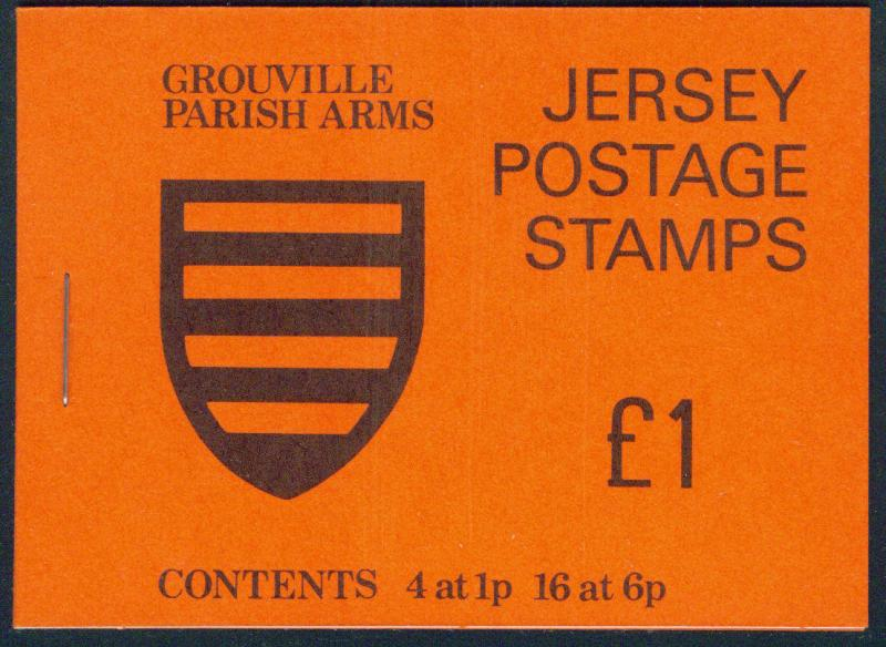 Jersey Stanley Gibbons SB27 Grouville 1