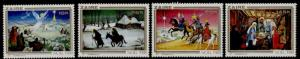 Zaire 1000-3 MNH Christmas, Nativity, Sherperds, Angels, Tree Kings
