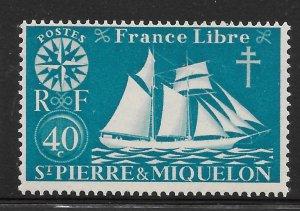 Saint Pierre and Miquelon Mint Never Hinged [4132]
