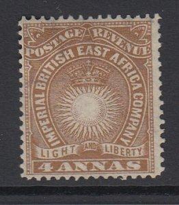 BRITISH EAST AFRICA, Scott 19, MHR