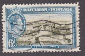 Bahamas # 107, Fort Charlotte, Used, 1/3 Cat