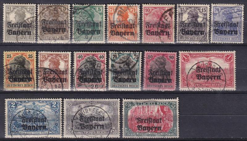 Bavaria #176-91 F-VF Used CV $67.40 (A18313)