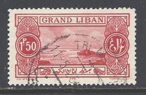 Lebanon Sc # 56 used (RS)