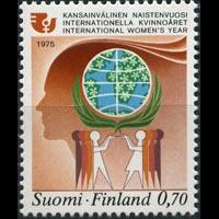 FINLAND 1975 - Scott# 579 Intl.Women Year Set of 1 NH