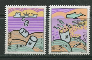 STAMP STATION PERTH Faroe Is.#143-144 Pictorial Definitive Iss. MNH 1986 CV$4.00