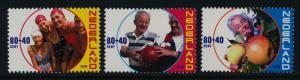 Netherlands B717-9 MNH Senior Citizens, Sports, Fruit