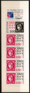 FRANCE SG3551/2 1999 150th ANNIV OF FIRST FRENCH POSTAGE STAMP BOOKLET MNH