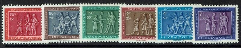 Luxembourg SC# B174-B179, Mint Lightly Hinged - Lot 041117