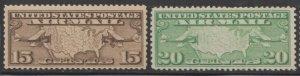 U.S. Scott #C8-C9 Airmail Stamp - Mint Set