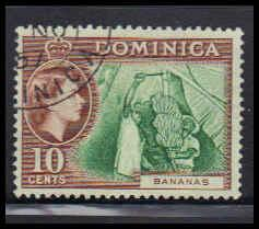 Dominica Used Very Fine ZA4951