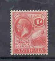 Antigua Sc43 1921 1 d G V St John's Harbour stamp mint