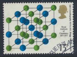 Great Britain  SG 1032 SC# 809 Used / FU with First Day Cancel - Chemistry