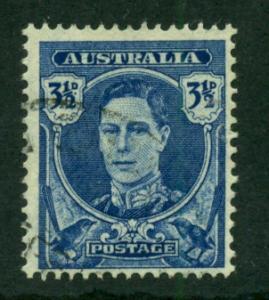 Australia 1942 #195 U SCV(2018)=$0.70