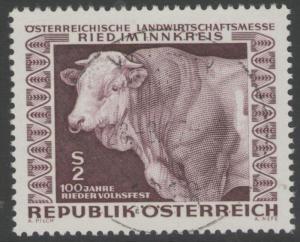 AUSTRIA SG1503 1967 RIED FAIR FINE USED