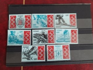 Monaco 1993 MNH Yv.1888-1895 Complete