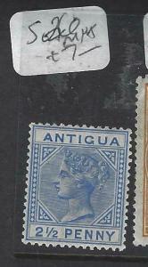 ANTIGUA    (P3003B)   QV  2 1/2D  SG 26   MNH