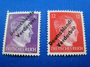 GERMAN STATES STAMPS - 1945 MEISSEN - LOCAL ISSUE - MNH