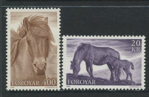 STAMP STATION PERTH Faroe Is.#254-255 Pictorial Definitive Iss.MNH 1993 CV$11.00