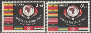 Ghana #46-7 MNH (K1487)