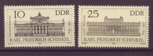 J20561 Jlstamps 1981 germany ddr mnh #2197-8 buildings