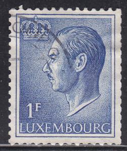 Luxembourg 420 Grand Duke Jean 1965