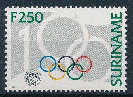 [63226] Suriname 1994 100 Years of Olympic Committee  MNH