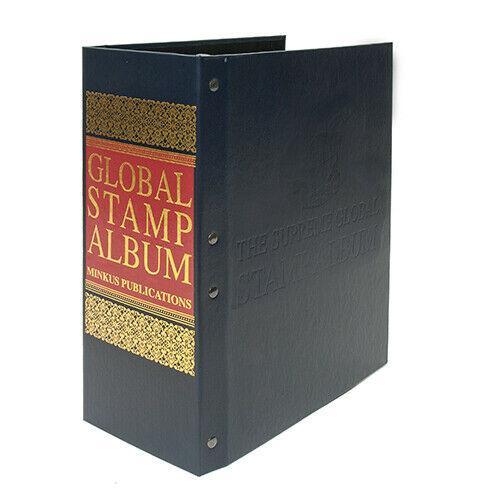 New Minkus Global Stamp Album 2-Post Binder - 600 Page Capacity