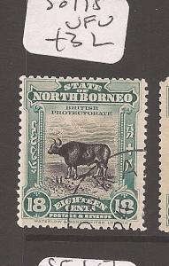 North Borneo 18c Cow SG 175 VFU (7dca)