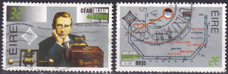 Ireland #973-4  F-VF Used CV $17.50 (Z3962)