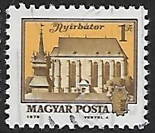 Hungary # 2570 - Nyirbator - used -  (GR22)