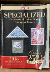 Scott 2018 Standard Postage Stamp Catalogue 1-6 A & B plus Specialized List $800