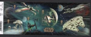 Great Britain Sc 3451 2015 Star Wars stamp sheet mint NH