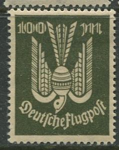 GERMANY. -Scott C18 - Airpost -1923- MLH - Single 100m Stamp