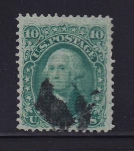 96 VF+ used neat cancel with nice color cv $ 250 ! see pic !