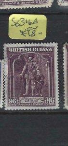 BRITISH GUIANA  (P2501BB)  KGVI  96C    SG 316A        VFU