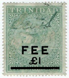 (I.B) Trinidad & Tobago Revenue : Fee £1