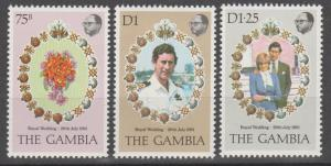 Gambia #426-8 MNH VF  (ST2056)