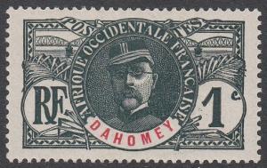 Dahomey 17 MH CV $1.60
