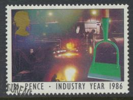 Great Britain  SG 1310 SC#1131 Used / FU with First Day Cancel - Industry Year