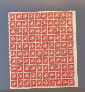 C38, New York Jubilee, Mint Sheet, CV $50.00