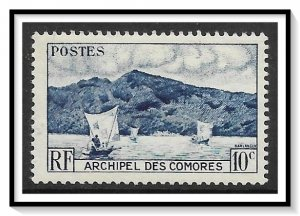 Comoro Islands #30 Anjouan Bay MNH