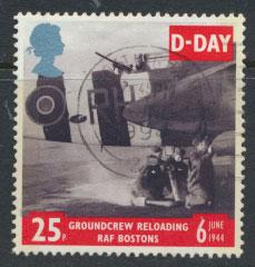 Great Britain SG 1824  Used  - D Day Anniversay
