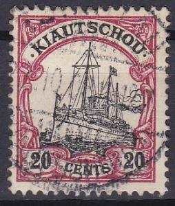 Kiauchau 27 used (1905)