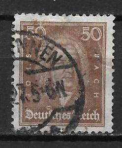 Germany 361 50f Men single Used (z3)