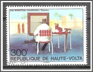Upper Volta #350 Winston Churchill Issue CTO