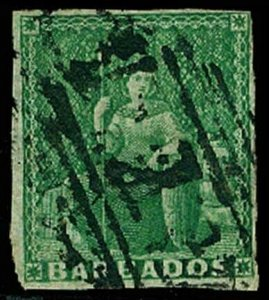 BARBADOS 5  Used (ID # 64495)